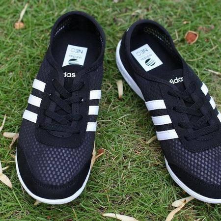 adidas阿迪达斯 NEO Label最新系列沁凉新款女鞋透气网面跑步鞋