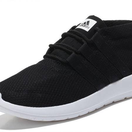 阿迪达斯男鞋夏季跑步鞋女鞋正品新款轻便透气情侣休闲运动鞋