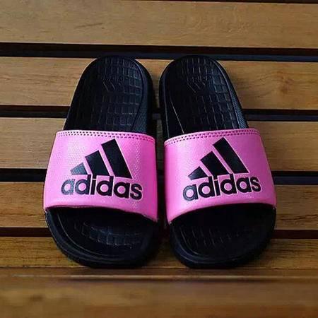 adidas阿迪达斯夏季新款懒人一脚拖舒适男女拖鞋
