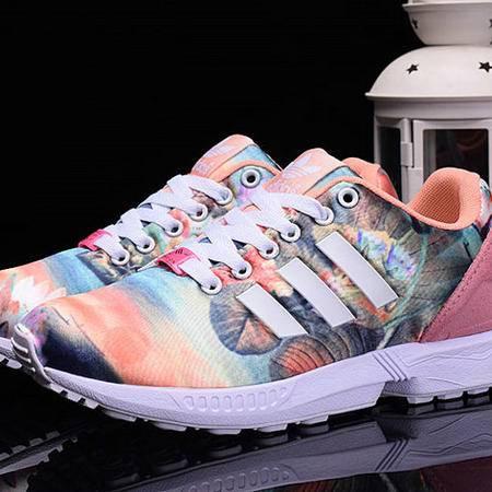 adidas阿迪达斯ZX Flux B25483 范冰冰情侣款潮流靓丽帅气男女鞋