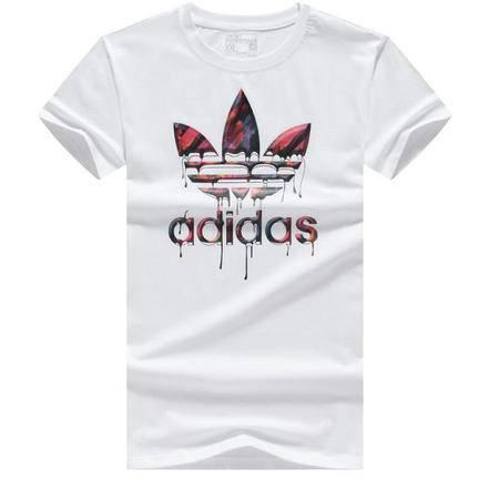 ADIDAS阿迪达斯 季新款男式短袖休闲T恤潮男纯棉男士运动衫