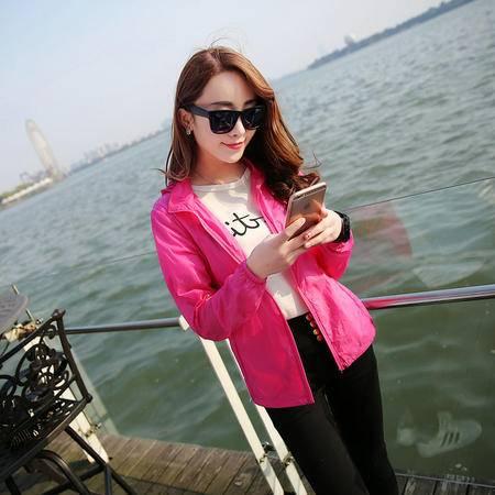 ADIDAS阿迪达斯 防晒衣女士夏2016超薄长袖防紫外线韩版户外大码外套