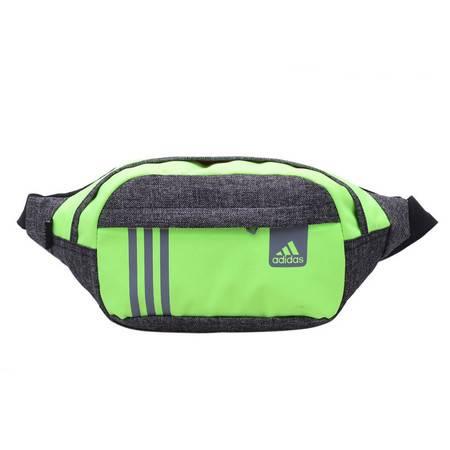 Adidas阿迪达斯三叶草腰包男款运动胸包旅行小包时尚跑步包