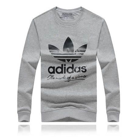 阿迪达斯/ADIDAS 休闲卫衣三叶草秋季运动男装长袖衫