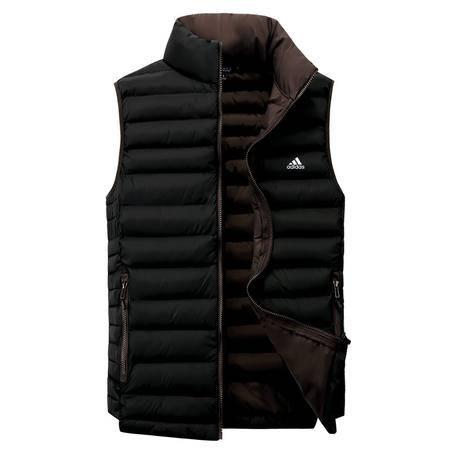 阿迪达斯/ADIDAS 羽绒马甲 冬季男子运动服保暖防风羽绒背心