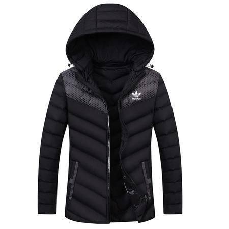 阿迪达斯/ADIDAS 夹克三叶草棉服男子冬季新品休闲外套