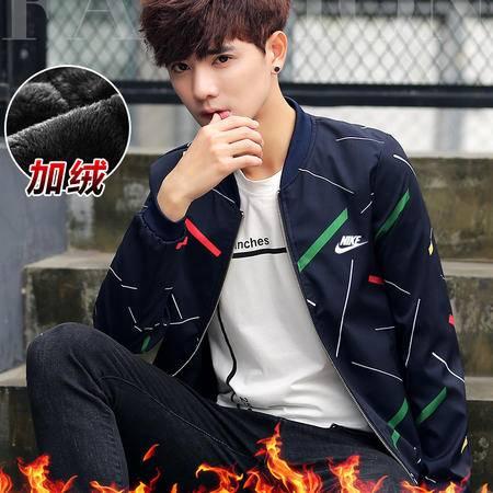 耐克/NIKE 长袖外套男运动休闲夹克秋冬季新款纯棉立领开衫加绒卫衣