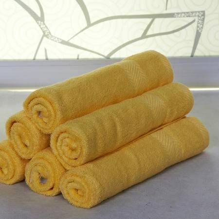 竹豪  竹纤维34*76洁面美容毛巾3条 颜色随机