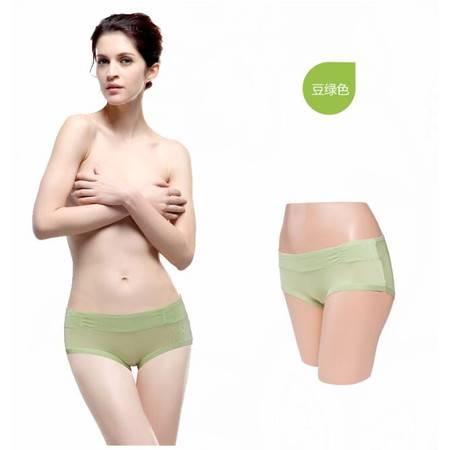 好安怡性感纯色莫代尔三角低腰女士内裤舒适透气/ 短裤XS017