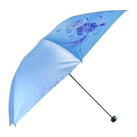 【全国包邮】天堂伞 337S珍丝印 晴雨两用伞 钢骨伞 可定制广告伞 颜色随机