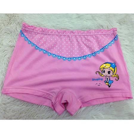 好安怡 女童内裤 莫代尔花边可爱小童 女宝宝短裤 平角内裤XS033