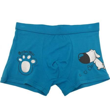 【4条装】包邮好安怡 儿童内裤 男童莫代尔内裤 平角内裤舒适透气XS038