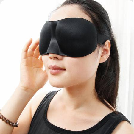 清悦3D立体护眼罩 遮光眼罩睡眠眼罩男女睡觉用 包邮