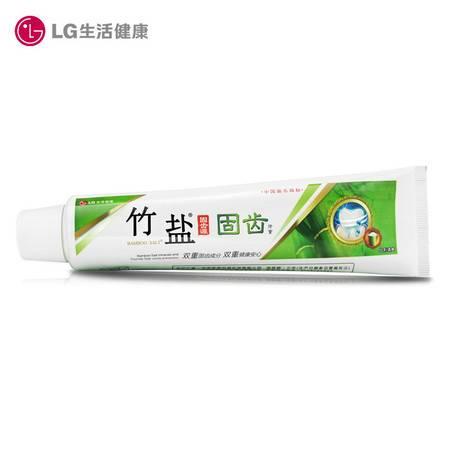 LG竹盐固齿源洁白牙膏115g*5支