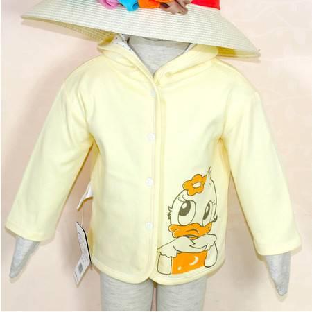 亨艺开阳双层带帽上衣 男女宝宝卫衣外套儿童外出服卫衣宝宝衣服春秋
