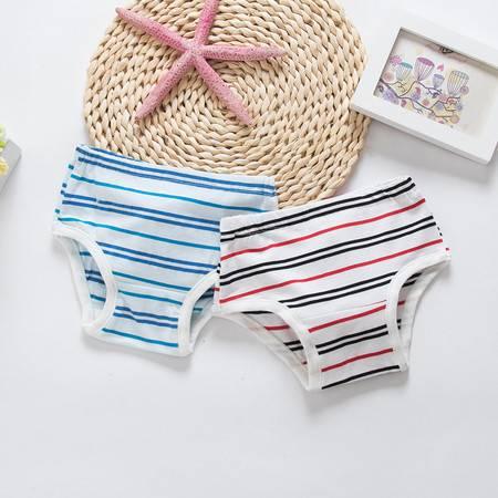 亨艺开阳色织童内裤(两条装 ) 宝宝内裤纯棉男女宝宝内衣内裤