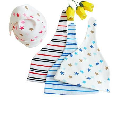 亨艺开阳婴儿帽子纯棉打结帽  宝宝帽子纯棉婴儿帽子男女宝宝帽