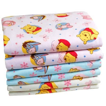 亨艺开阳单面加厚防水尿垫防水透气纯棉月经垫宝宝新生儿用品可洗100X140CM