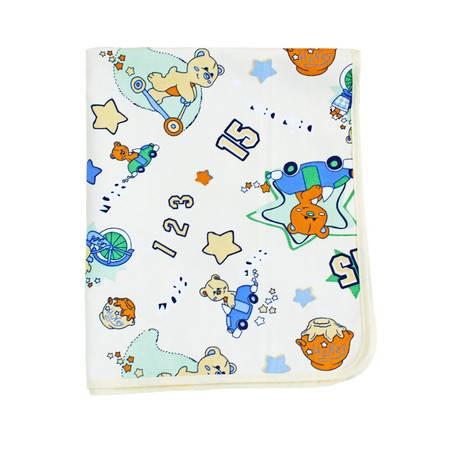 亨艺开阳棉麻隔尿垫73*118CM 防水透气纯棉月经垫宝宝新生儿用品可洗