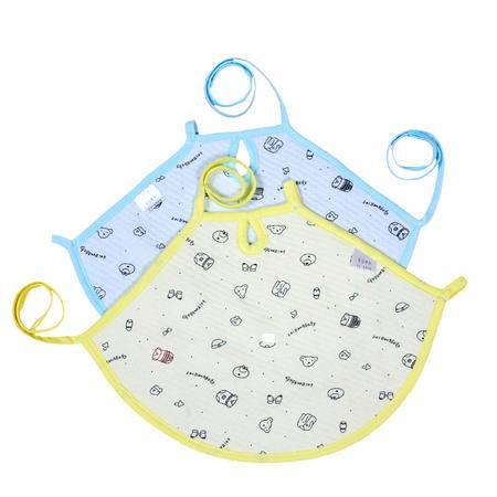 亨艺开阳保暖肚兜两条装  宝宝肚兜  肚脐带  婴儿肚兜  肚围