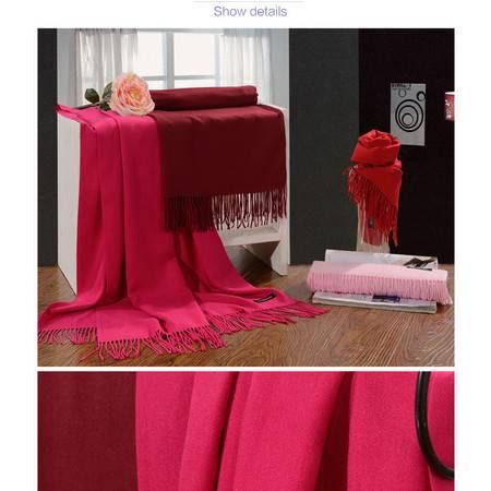 华纳斯臻羊绒围巾HD15-020    颜色随机