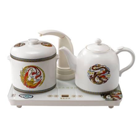 茶皇子潘龙福凤自动抽水陶瓷套装XH-S2