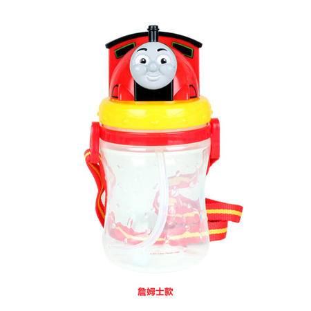 正品Thomas托马斯吸管杯3D防滑水壶儿童卡通冷水杯背带便携运动水壶
