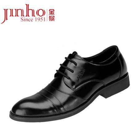 金猴 新品男鞋商务正装皮鞋 男士潮流英伦真皮单鞋低帮鞋男鞋正品Q2949
