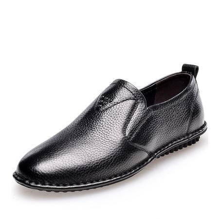 金猴 Jinho新款经典时尚 柔软舒适防滑耐磨套脚男单鞋Q29072/Q29073