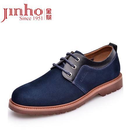 金猴 Jinho潮流时尚反绒皮 日常休闲 透气舒适系带男士单鞋 Q29085/Q29086