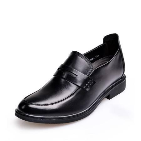 金猴皮鞋正品新款 男士商务休闲皮鞋Q29107A