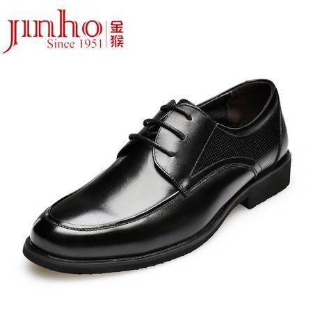 金猴男鞋 新款真皮时尚商务休闲男士单鞋Q29108A