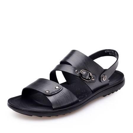 金猴夏季新款男凉鞋 日常休闲舒适透气沙滩鞋 防滑男士凉鞋Q38015A