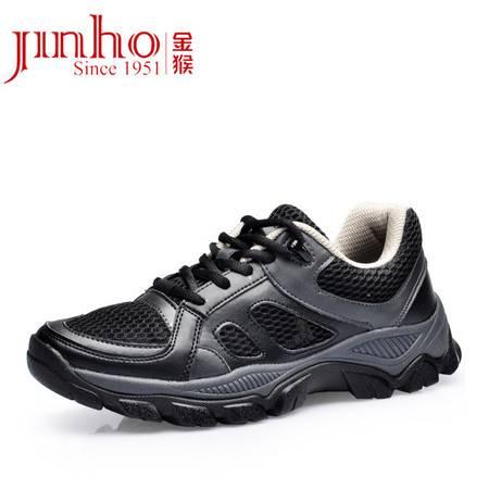 Jinho/金猴作训女鞋时尚高帮系带女鞋 迷彩休闲鞋 户外登山鞋女M60218A/B/C