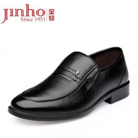 金猴 休闲皮鞋韩版时尚热卖真皮牛皮单鞋春秋男鞋Q29131A/29131B