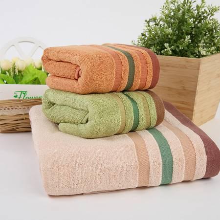 竹派 加厚竹纤维浴巾毛巾 小礼盒组合(1浴巾+2毛巾)