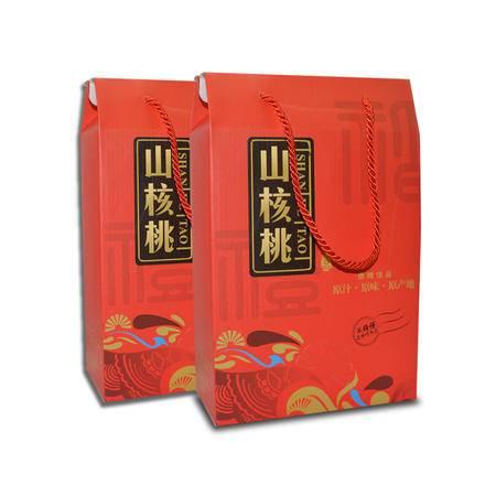 【浙江特产】临安山核桃 奶油手剥小核桃3斤装礼盒 250g*6包