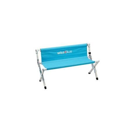 维仕蓝双人折叠排椅WD5023