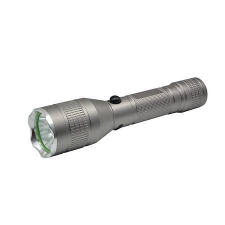 康铭铝合金LED充电式强光手电筒KM-L252