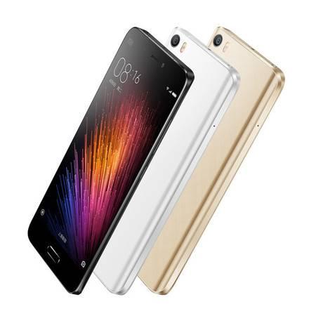 【赠送手机指环支架+自拍杆】小米(MI)5 全网通4G手机 32GB 指纹识别技术 双卡多模