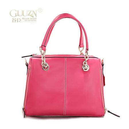 欧美时尚商务糖果流行元素牛皮女手提包袋女包包GC