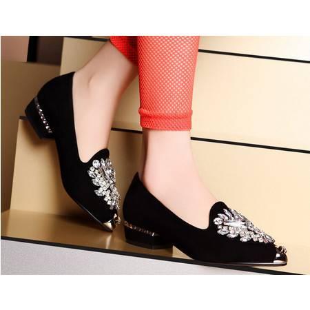 moolecole/莫蕾蔻蕾 优雅尖头平底鞋时尚女鞋包邮鞋子偏小建议购买大一码