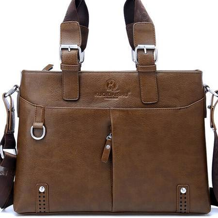 男士手提包时尚商务电脑包 手提包单肩背包专注男士精品商务男包 奢华体验 不一般品质 全场包邮