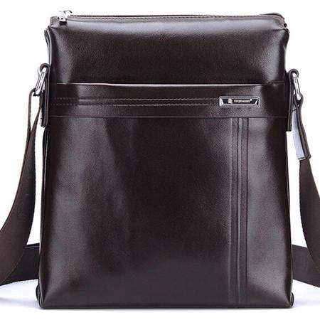 优质皮包男士手提包 时尚精品斜跨包 单肩包专注男士精品商务男包 奢华体验 不一般品质 全场包邮