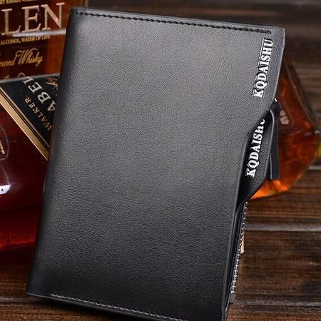 牛皮商务男士短款钱包爆款英伦钱包专注男士精品商务男包 奢华体验 不一般品质 全场包邮