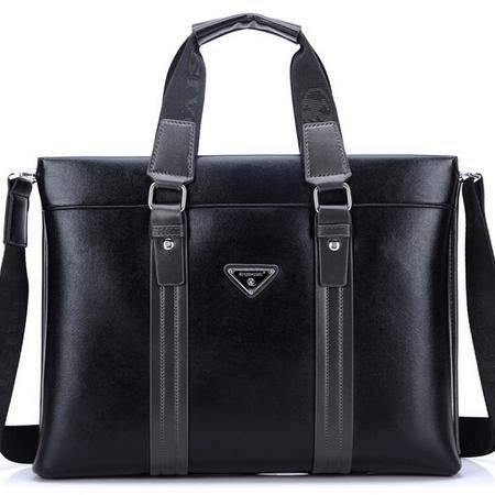 男士时尚商务手提包 新款电脑包专注男士精品商务男包 奢华体验 不一般品质 全场包邮