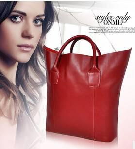 欧美潮大牌牛皮包包 女士时尚单肩包 手提包真皮女包源自欧美设计师 时尚包邮