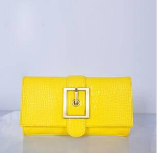 手拿包夏款牛皮鳄鱼纹包斜跨包休闲时尚广州潮包 源自欧美设计师 时尚包邮