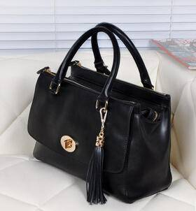 新款流苏手提包真皮女包纳帕牛皮包源自欧美设计师 时尚包邮