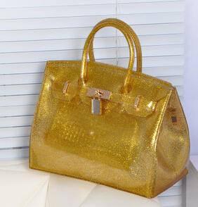 新款女包欧美时尚亮片果冻包休闲包潮包女包源自欧美设计师 时尚包邮
